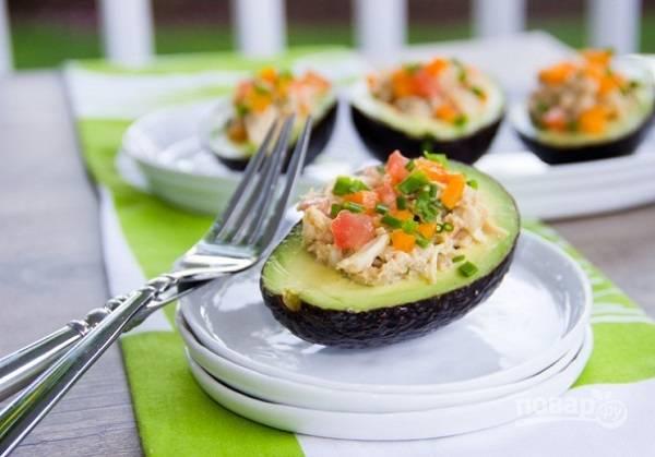 Новогодний порционный салат