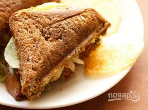 Горячий бутерброд с чатни