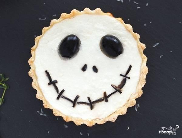Тарталетки на Хэллоуин