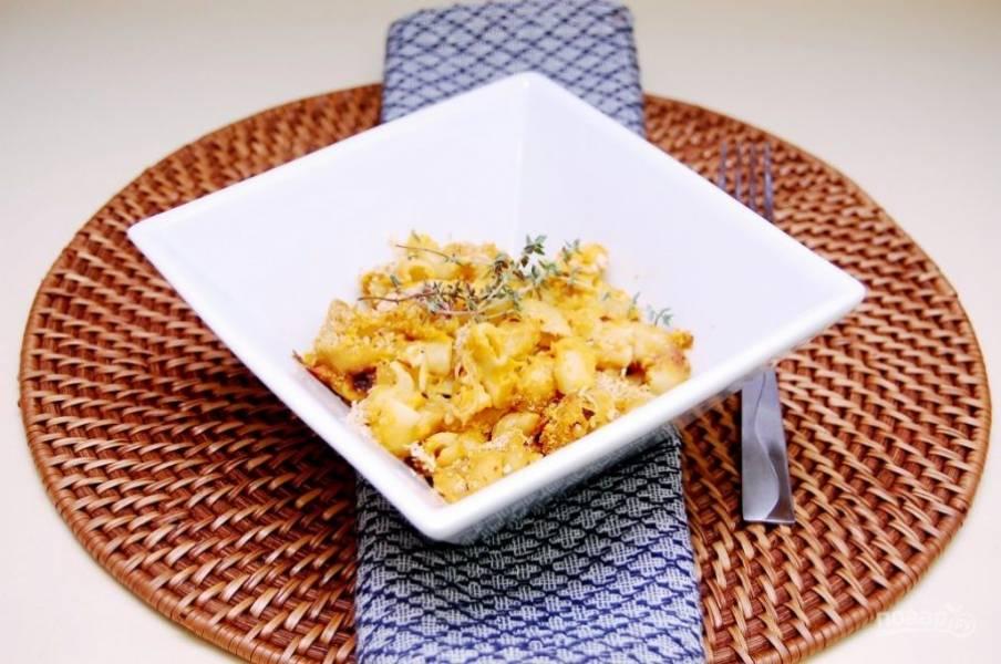 5. Запекайте блюдо 35 минут при 200 градусах в духовке. Приятного аппетита!