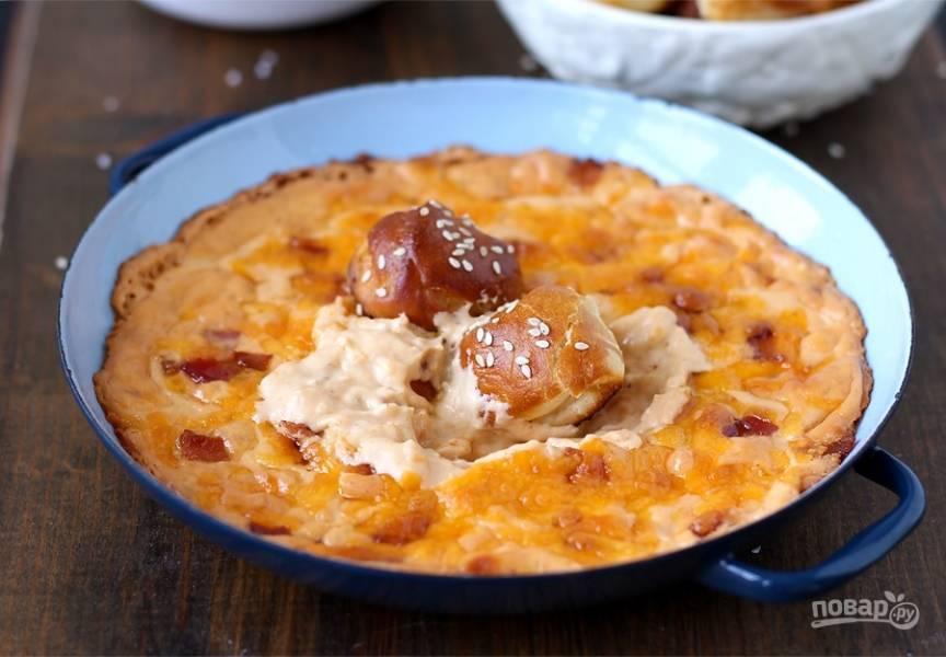 Дип из сыра и бекона