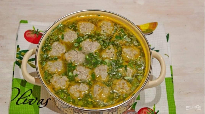 Варим до мягкости картофеля. Суп готов, приятного аппетита! :)