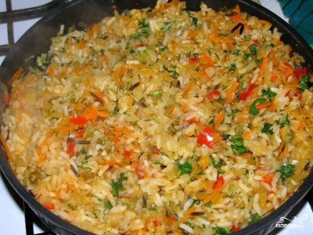 Бигус с рисом