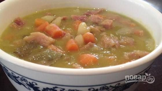Гороховый суп простой