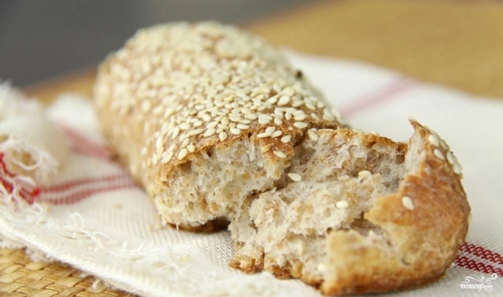 5. Булочки из цельнозерновой муки получаются очень вкусными, а тесто может сохраняться в холодильнике до двух дней.