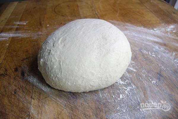 3. Все, тесто подошло и можно лепить пирожки.