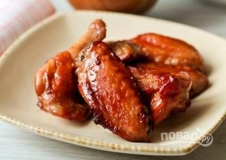 Вкусный маринад для куриных крылышек