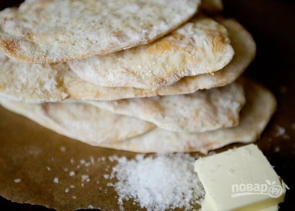 Бездрожжевые хлебцы в духовке