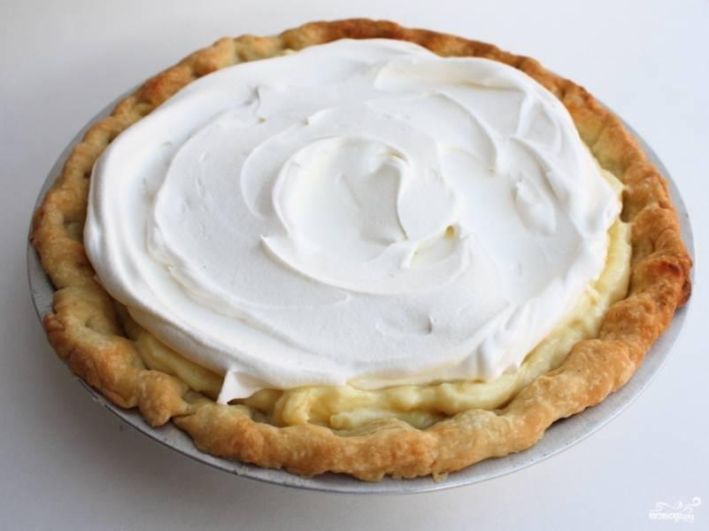 Лимонный кремовый пирог