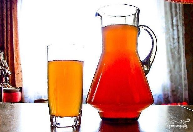 Храните напиток в холодильнике, пробуйте его в охлаждённом виде.