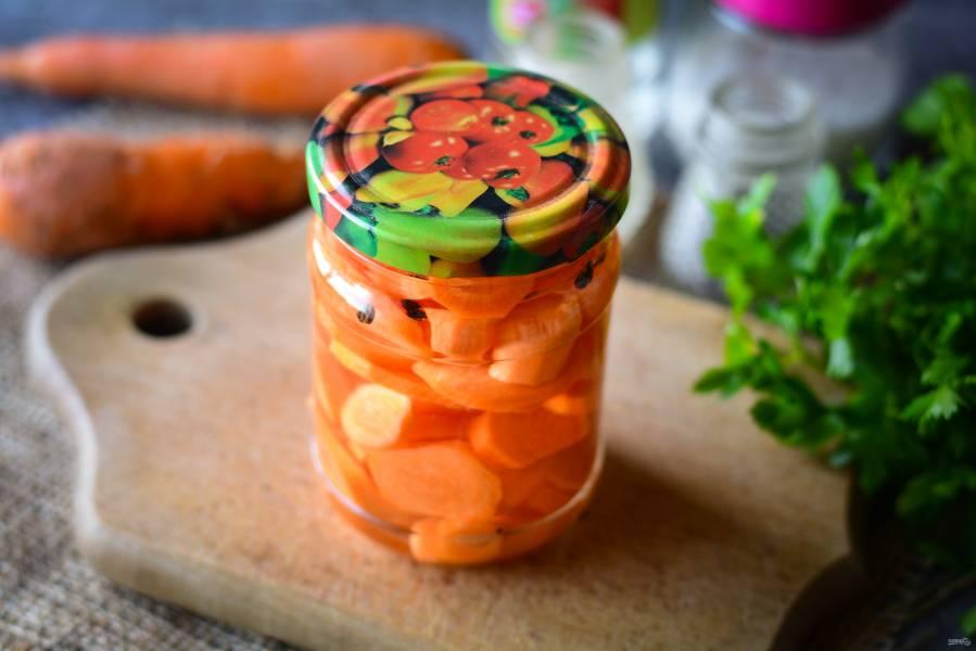 Консервированная морковь на зиму