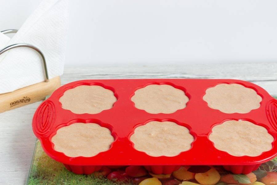 И классические формы для кексов.