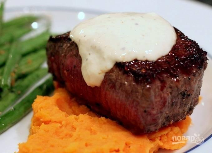 Сметанный соус для мяса