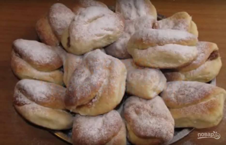 Пироги со сметаной