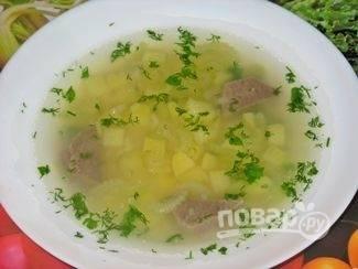 Суп из стебля сельдерея
