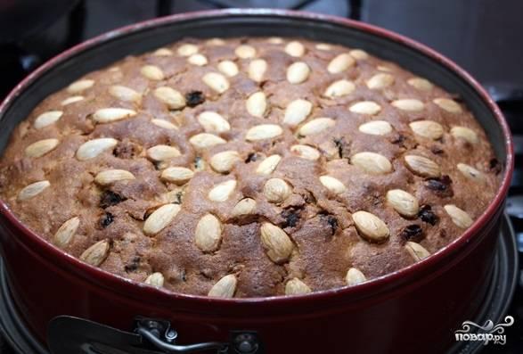 Выпекайте кекс в духовке при 160 градусах в течении часа-полутора. Проверяйте готовность зубочисткой.