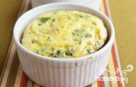 Французский пирог Киш с брокколи и сыром