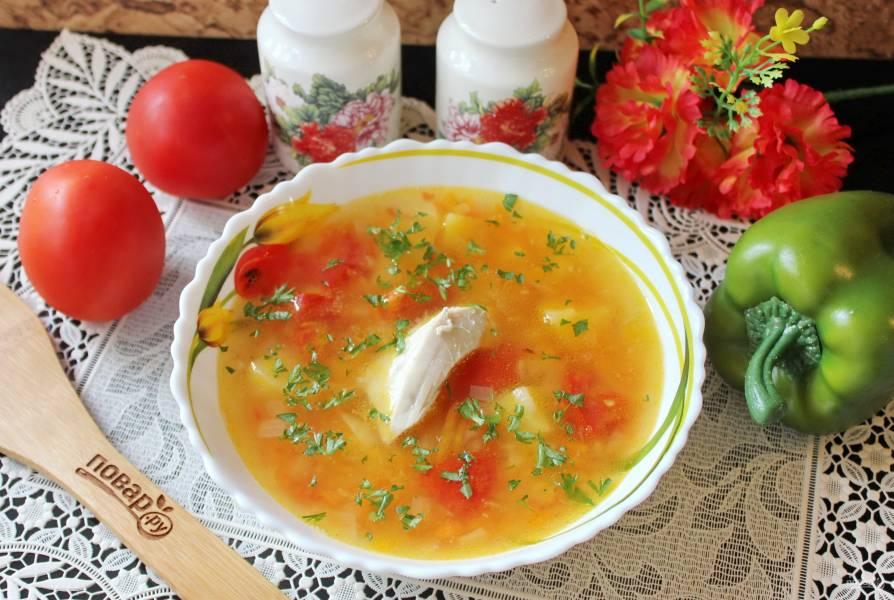 Гороховый суп по-турецки