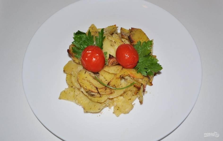 Картофель, запеченный в сметане