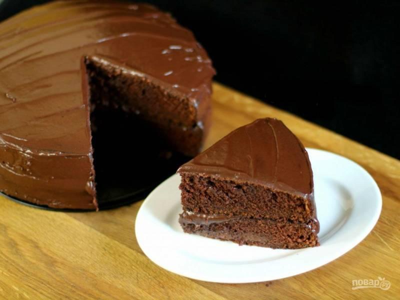 Торт на сгущенке по-домашнему