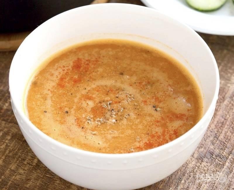 Суп из чечевицы по-турецки