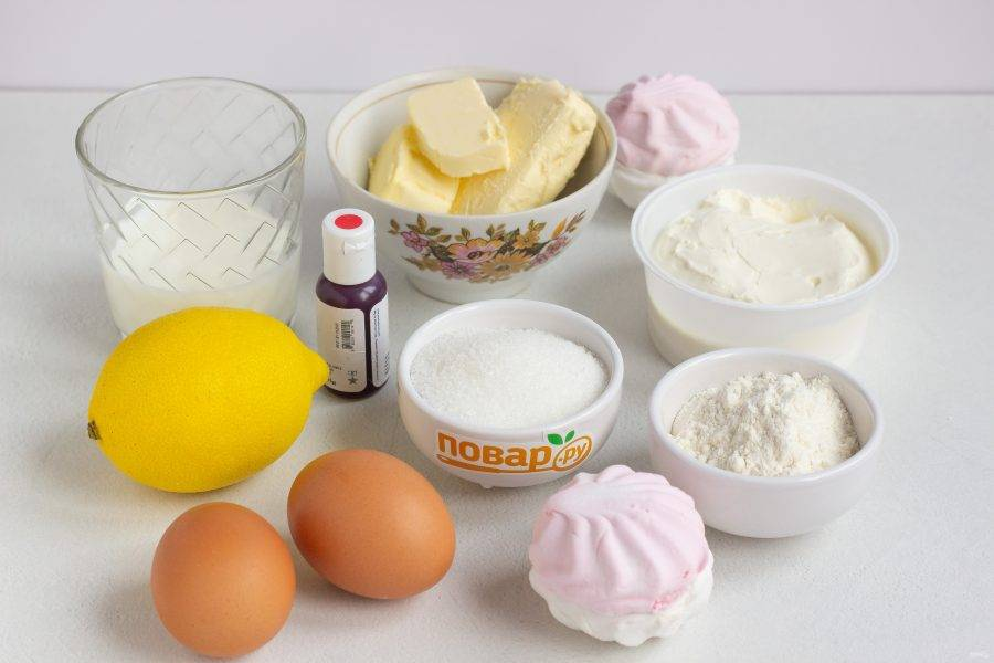 Подготовьте все необходимые ингредиенты.