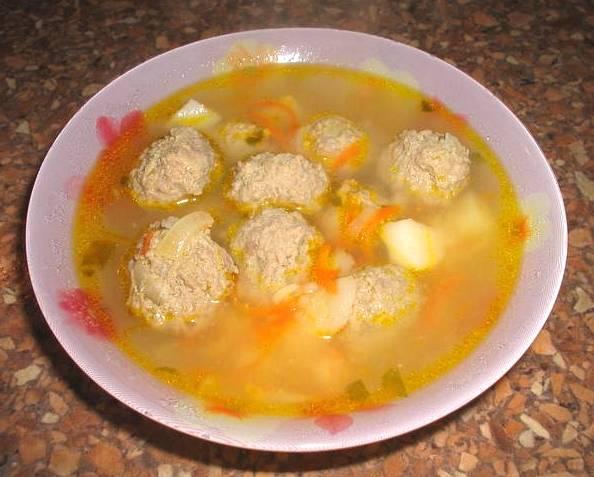 4. Суп готов! Приятного аппетита!