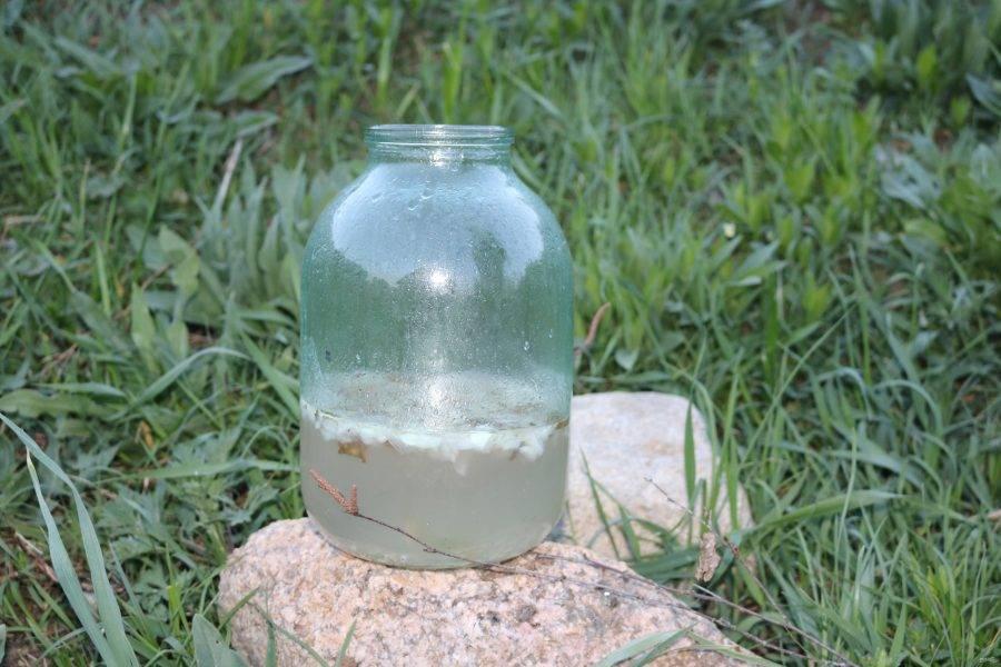 Наша вода приготовилась.