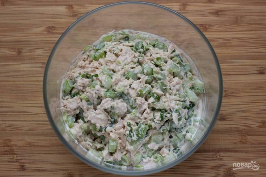 Салат с тунцом (рецепт с фото)