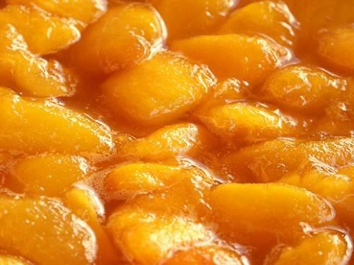 Персики ставим на 5 минут в микроволновку, полная мощность. Затем вынимаем, присыпаем корицей по вкусу, тщательно перемешиваем и ставим еще на 3 минуты. Вынимаем, перемешиваем и последний раз ставим на 1 минуту.