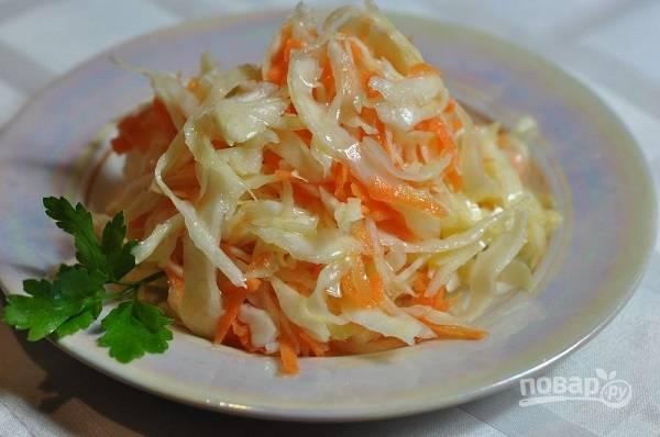 """Рецепт салата """"Капуста по-корейски"""""""