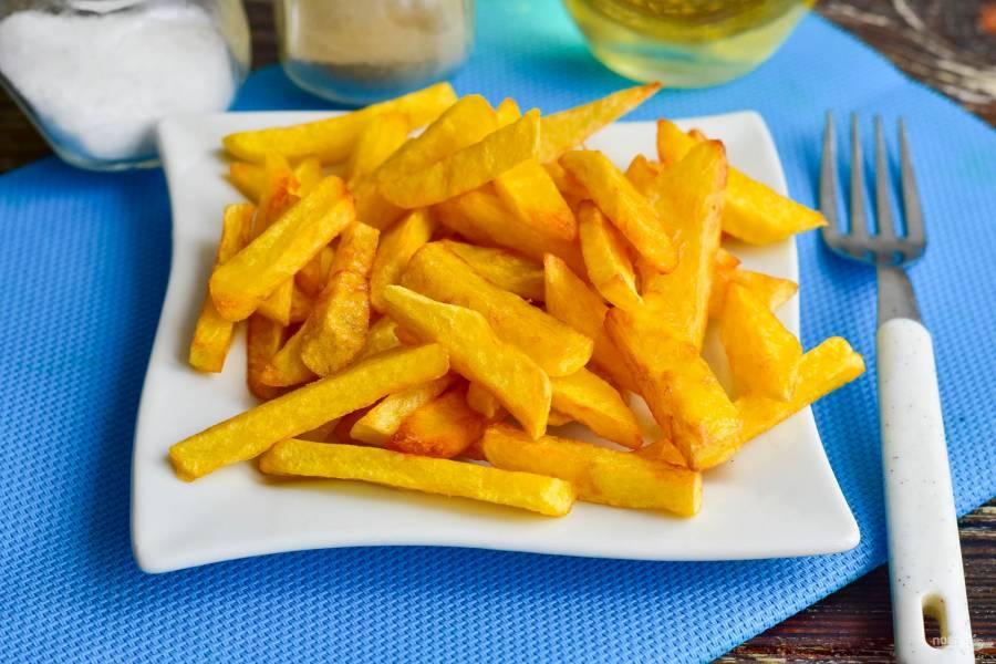 Картошка фри как в Макдональдсе