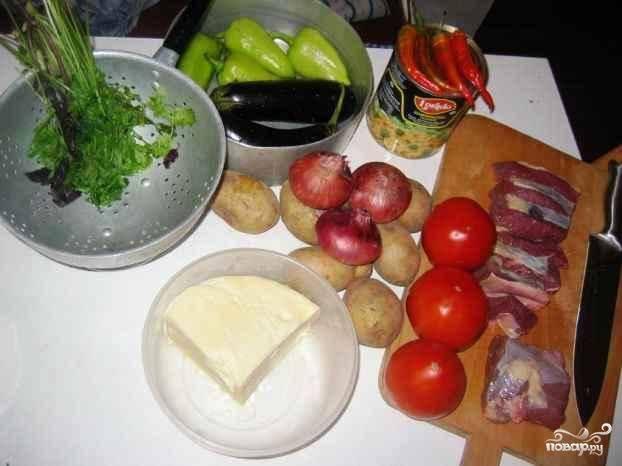 Вот они - наши ингредиенты, из которых мы приготовим вкусненькую запеканочку.