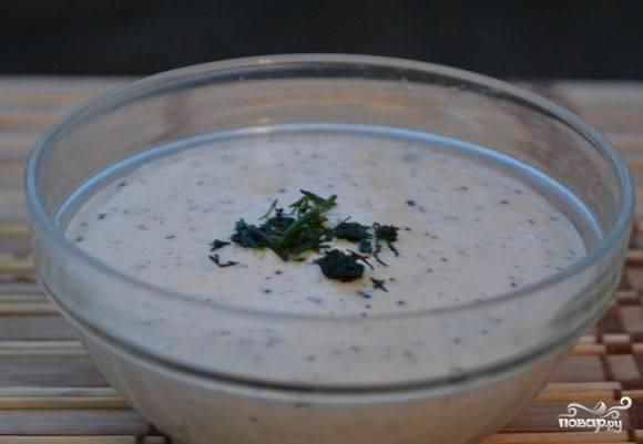 Соус из плавленого сыра