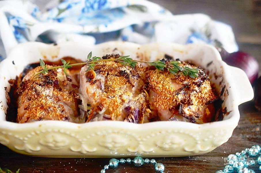 6. Запекайте в разогретой до 200 градусов духовке около 30 минут. Приятного аппетита!