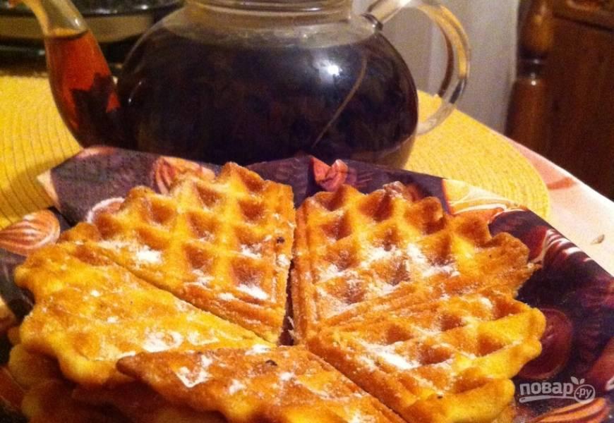 Рецепт бельгийских вафель в вафельнице
