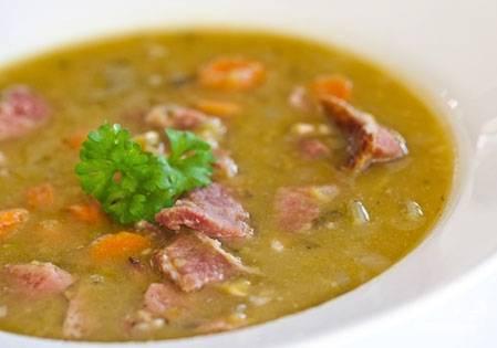 Суп со свининой в мультиварке