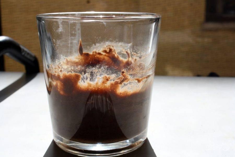 3.Хорошенько перемешайте содержимое чашки до получения однородной консистенции.