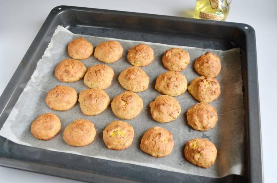 9. Печенье готово! Мягкое и очень ароматное.