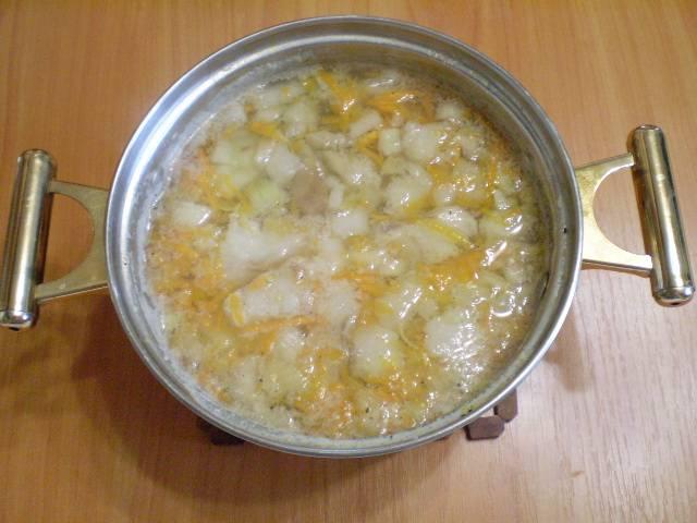 7. Суп готов.