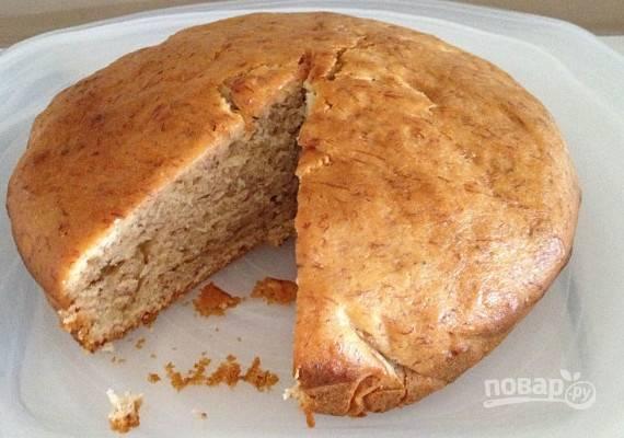 Простой рецепт бананового пирога