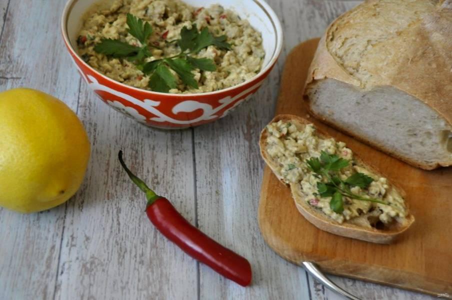 Дайте закуске настояться. Через 2-3 часа ее можно дегустировать. Это очень вкусно, рекомендую приготовить!