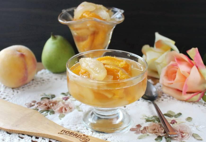 Варенье из персиков и груш