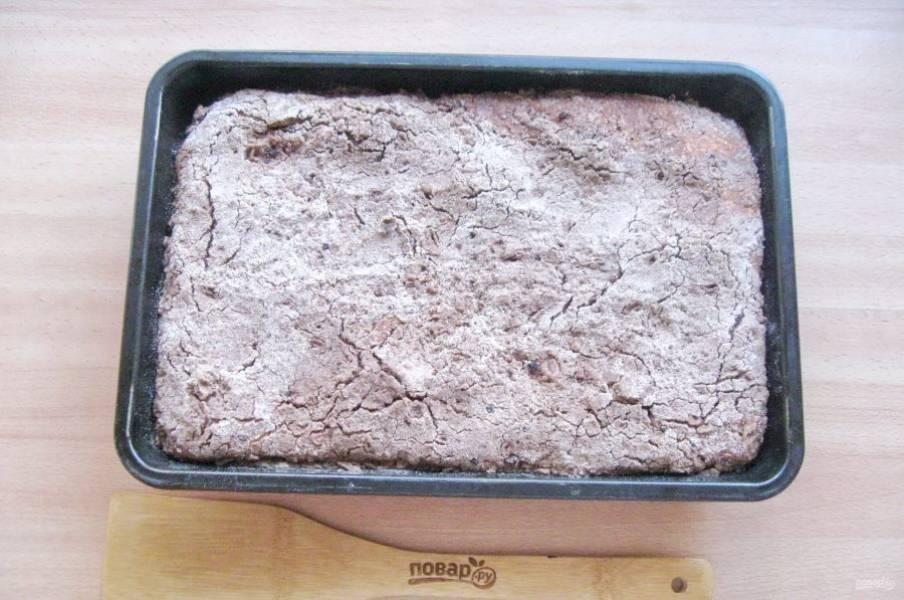 Выпекайте пирог в духовке разогретой до 180 градусов 35-40 минут.