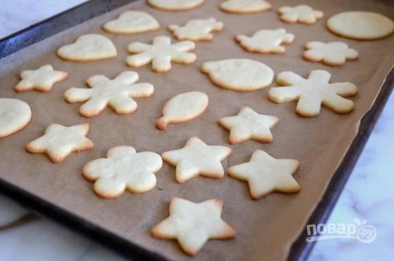 Запекайте печенье 13 минут при 180 градусах в духовке.