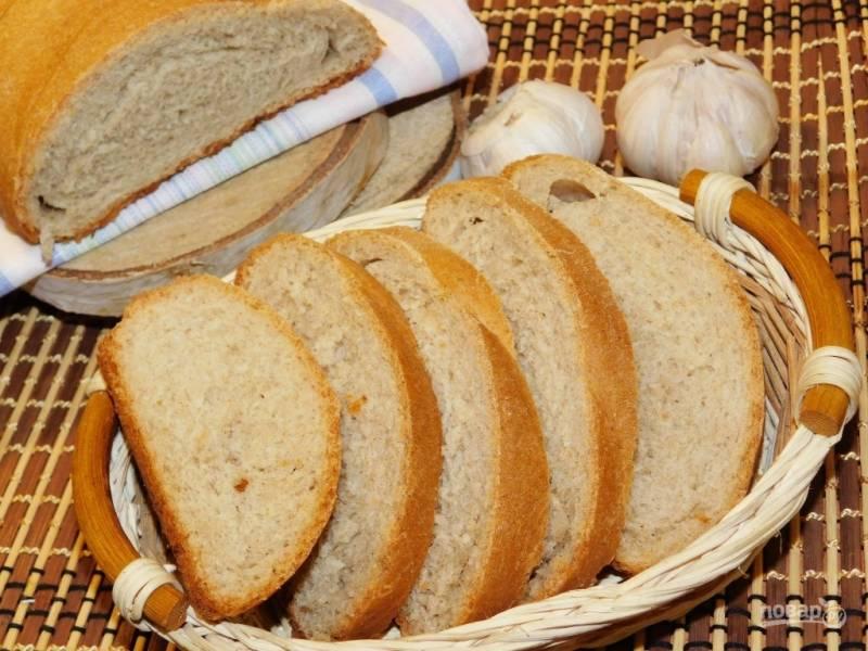 Хлеб из гречневой муки