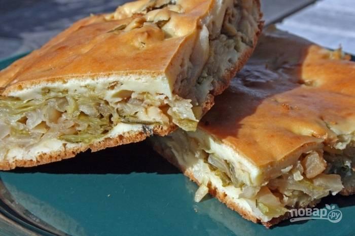 Тесто с майонезом для пирога