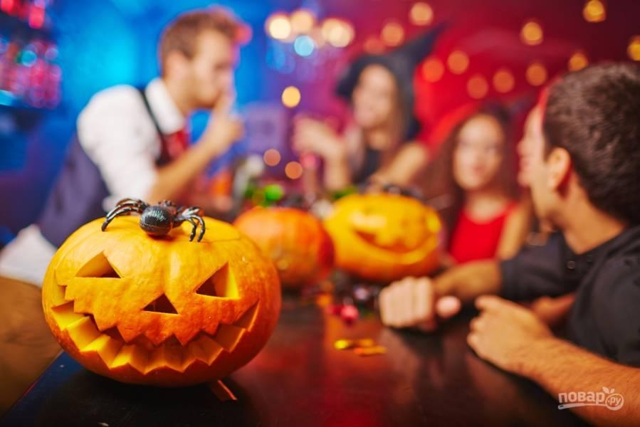 Хэллоуин 2020! Вырезаем фонарь Джека и готовим праздничные закуски
