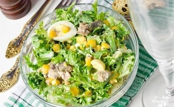 Салат из сардины в масле