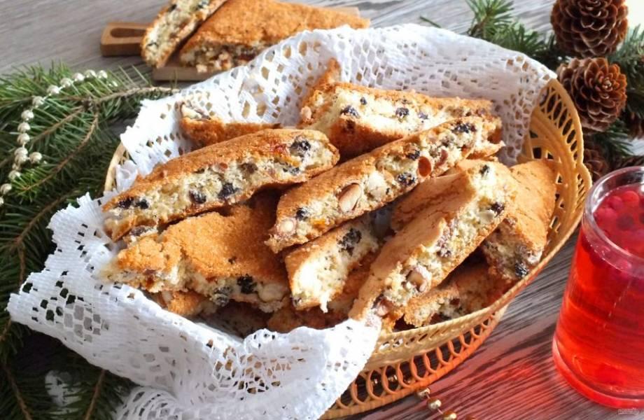 Готовое печенье можно подавать слегка теплым или полностью охлажденным. Приятного аппетита!
